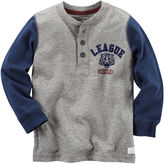 Carter's Long Sleeve Henley Shirt - Preschool