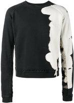 Haider Ackermann bleached sweatshirt