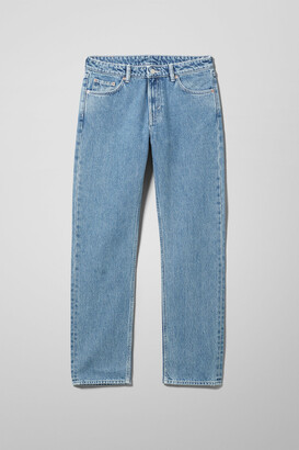 Weekday Dash Mid Straight Jeans - Blue