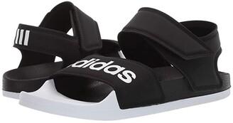 adidas Adilette Sandal (Core Black/Footwear White/Core Black) Women's Shoes