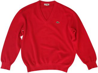 Lacoste Red Wool Knitwear & Sweatshirts