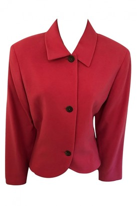 Salvatore Ferragamo Pink Cashmere Jacket for Women Vintage