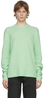 Acne Studios Green Wool and Cashmere Sweater