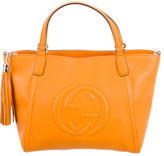 Gucci Soho Leather Top Handle Bag w/ Tags