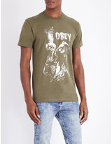 Obey Gimme Danger Cotton-jersey T-shirt