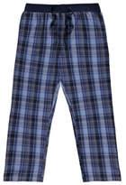 George Blue Woven Check Pyjama Bottoms