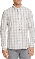 Michael Bastian Sketch Check Regular Fit Button-Down Shirt