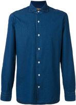 Barba textured shirt - men - Cotton - 41