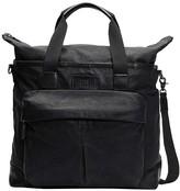 Frye Men's Duffle Bags black - Black Scout Leather Weekender
