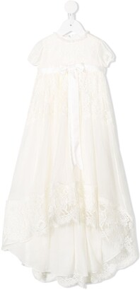 Dolce & Gabbana Kids Lace Detailed Ceremony Dress