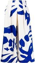 Issey Miyake Macro-Print Trousers