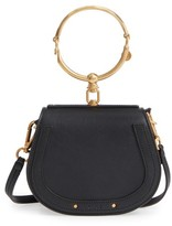 Chloé Small Nile Bracelet Leather Crossbody Bag - Black
