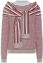 Isa Arfen Striped cotton sweater