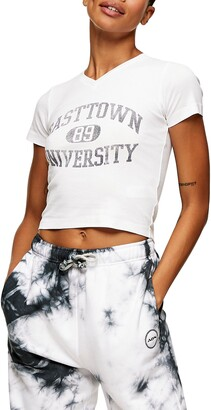 Topshop Easttown University Graphic Tee