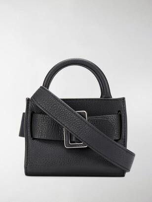 Boyy Bobby Surreal Leather Buckle Bag