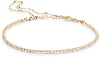 Adina's Jewels Tennis & Ball Chain Double Strand Bracelet