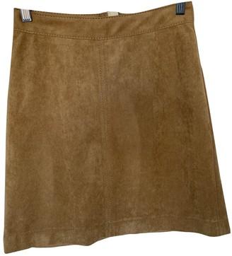 Drykorn Camel Skirt for Women