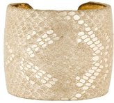 Ted Rossi Embossed Cuff Bracelet