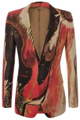 Alexander McQueen Henry Moore Printed Jacket