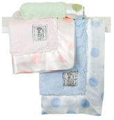 Little Giraffe Luxe New Dot Mini Baby Blanky