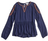 Tucker + Tate Girl's Embroidered Top