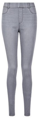 Dorothy Perkins Womens Tall Pale Grey 'Eden' Super Soft Jeggings, Grey