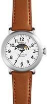 Shinola The Runwell Moon Phase Dial Watch, 41mm