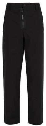 5 Moncler Craig Green - Straight-leg Cotton Trousers - Black