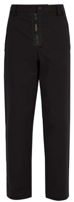 Craig Green 5 Moncler Straight Leg Cotton Trousers - Mens - Black