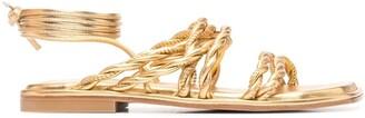Stuart Weitzman Calypso lace-up sandals