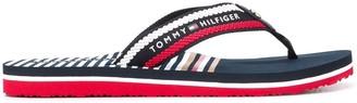 Tommy Hilfiger Logo-Plaque Flip Flops