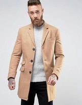 Farah Overcoat In Camel