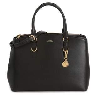 Lauren Ralph Lauren Double Zip Leather Satchel