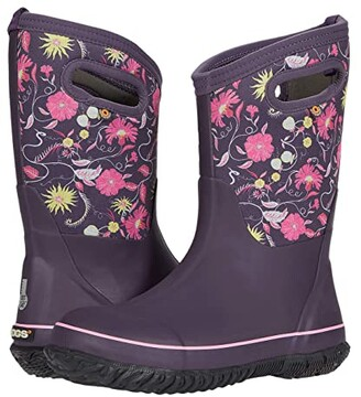 Bogs Classic Flower Whisp (Toddler/Little Kid/Big Kid) (Purple Multi) Girl's Shoes