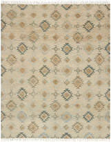 "Loloi Owen Ow-05 Pewter/Sand 5' x 7'6"" Flatweave Area Rug"