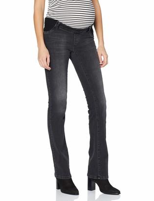 Bellybutton Women's Jeans Bootcut mit elastischen Tasch Maternity