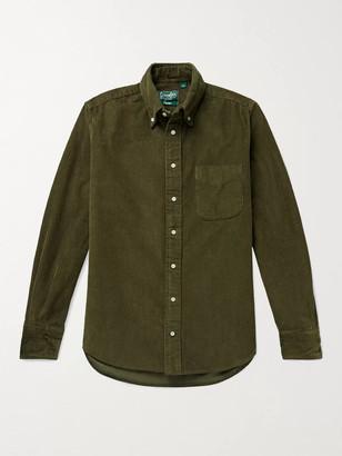 Gitman Brothers Slim-Fit Button-Down Collar Cotton-Corduroy Shirt