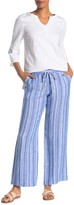 Tommy Bahama Santiago Stripe Linen Blend Easy Pants