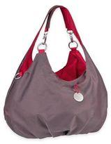Lassig Gold Label Shoulder Diaper Bag in Metallic Red