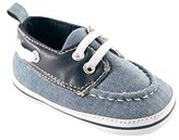 Luvable Friends Boy's Boat Shoe