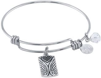 """LovethisLife """"Faith Hope Love"""" Bangle Bracelet"""
