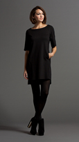 Komarov 1/2 Sleeve Panel Dress