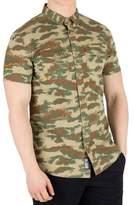 Superdry Men's Rookie Parachute Lite Shortsleeved Shirt, Green