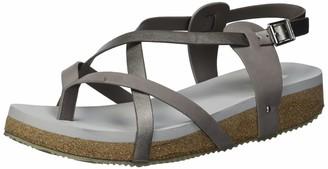 Volatile Women's Vicki Low Wedge Multi Strap Sandal