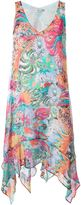 Tsumori Chisato floral print asymmetric dress