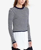Lauren Ralph Lauren Petite Layered Striped Sweater