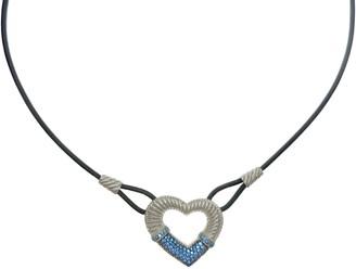 Judith Ripka Sterling Silver Diamonique Heart Necklace