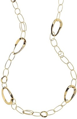 Ippolita Classico 18K Yellow Gold Cherish Long Chain Necklace