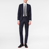 Paul Smith Men's Tailored-Fit Navy Wool And Mohair-Blend Travel Suit
