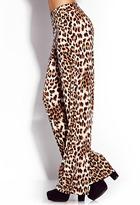 Forever 21 Untamed Leopard Wide-Leg Pants